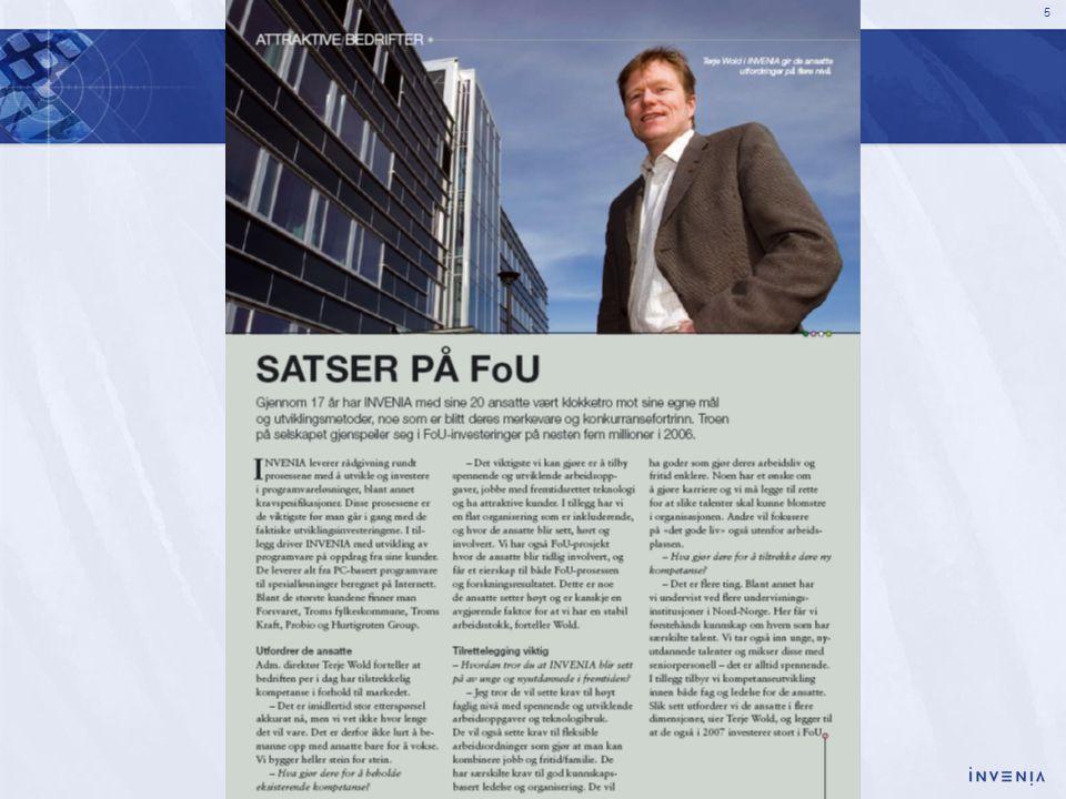 16 Hva med et kunnskapsbasert Nord-Norge .
