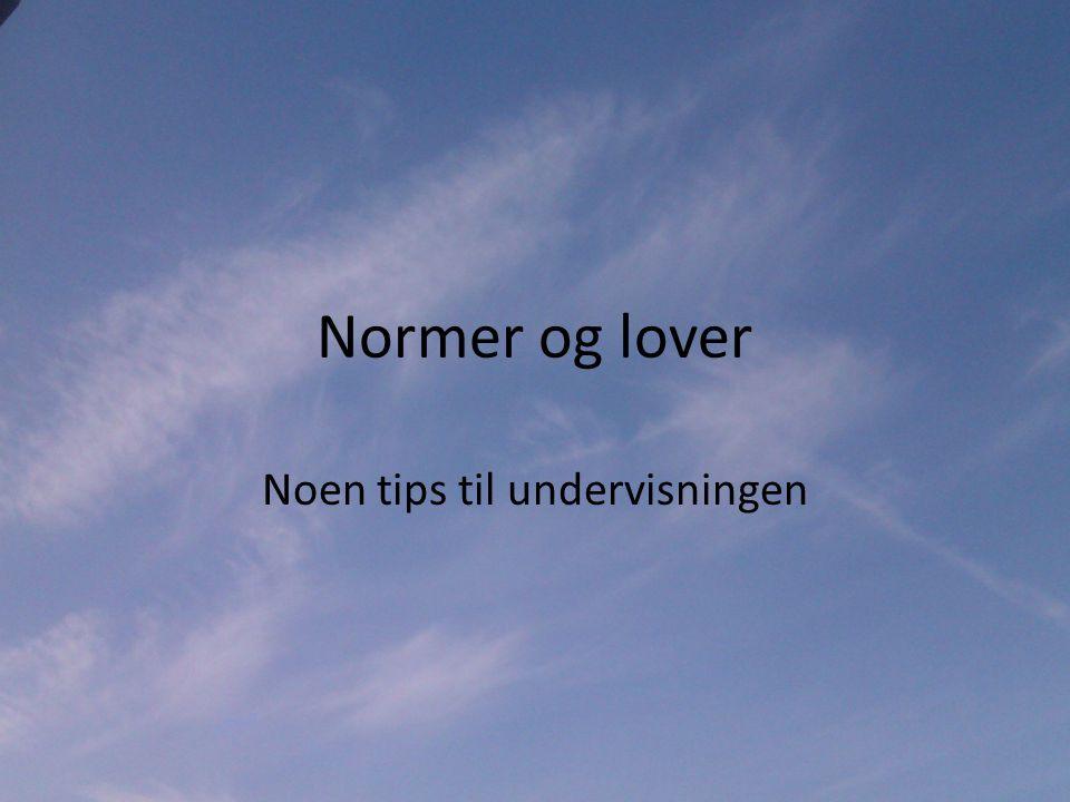 Hva er en norm.• Normer er uskrevne regler for hvordan man skal oppføre seg.