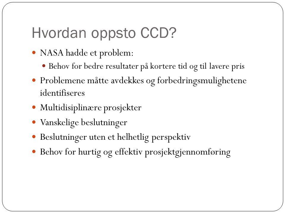 Hvordan oppsto CCD.