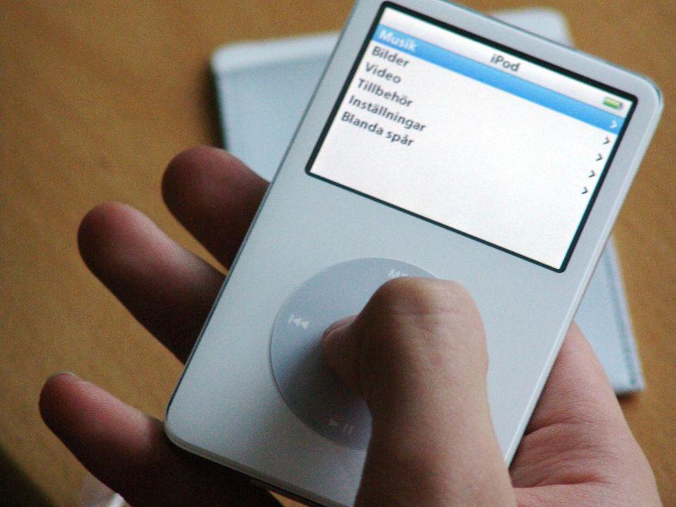 versjon 1.0 iPod or iTunes