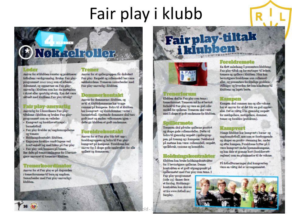 Fair play tiltak Samhold - Mangfold - Utvikling - Glede6