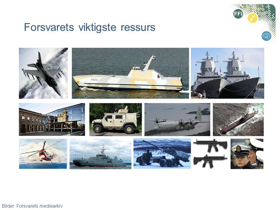 Forsvarets viktigste ressurs Bilder: Forsvarets mediearkiv