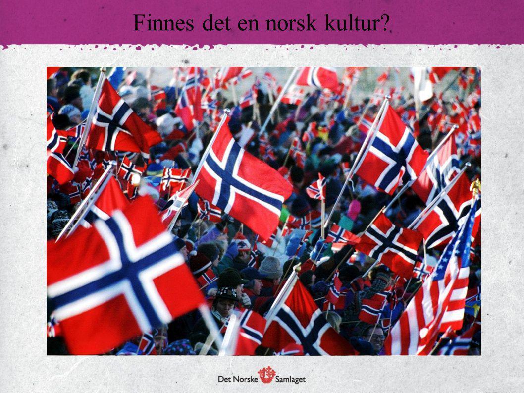 Samisk kultur:  Grunnleggende forskjellig fra norsk kultur.