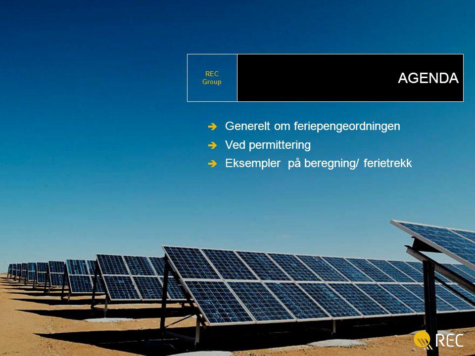 REC Wafer 3 Business Confidential  Copyright Renewable Energy Corporation ASA.