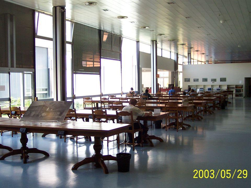 Bibliotekbesøk 2 Biblioteket Casanatensa