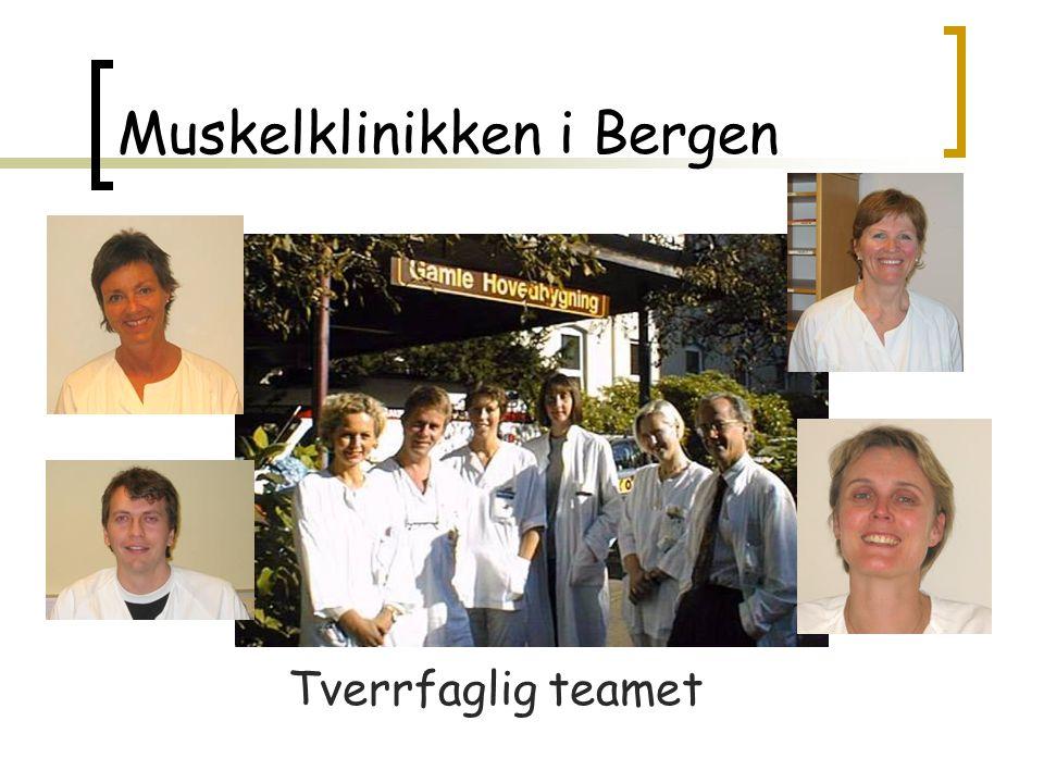 Muskelklinikken i Bergen Tverrfaglig teamet