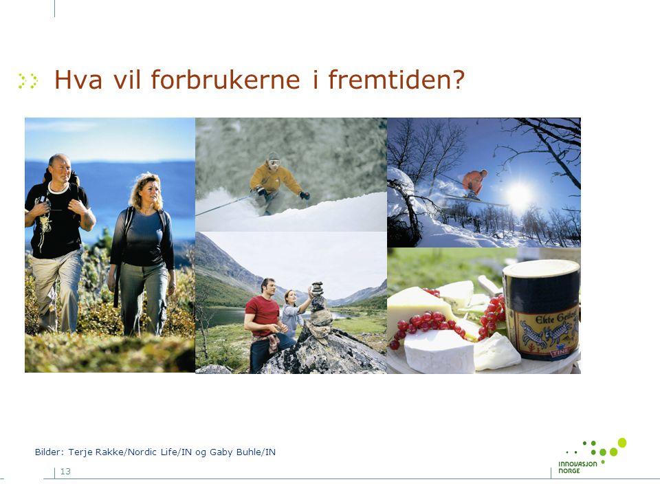 13 Hva vil forbrukerne i fremtiden? Bilder: Terje Rakke/Nordic Life/IN og Gaby Buhle/IN