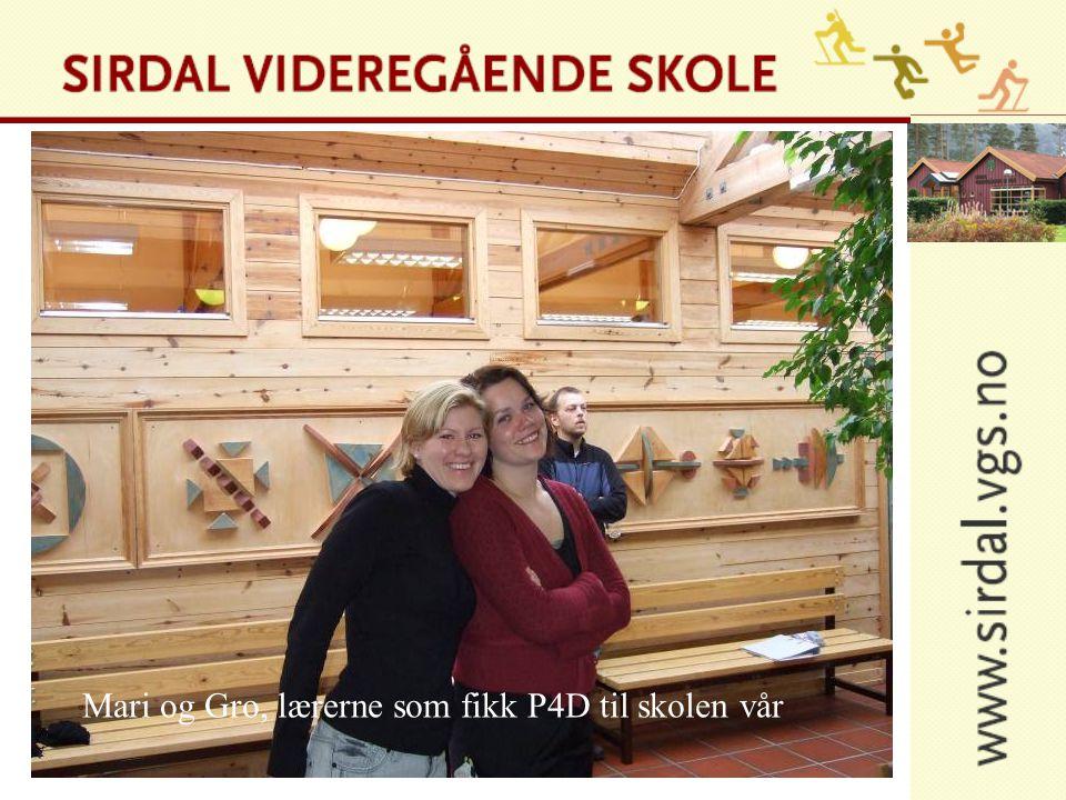 Mari og Gro, lærerne som fikk P4D til skolen vår