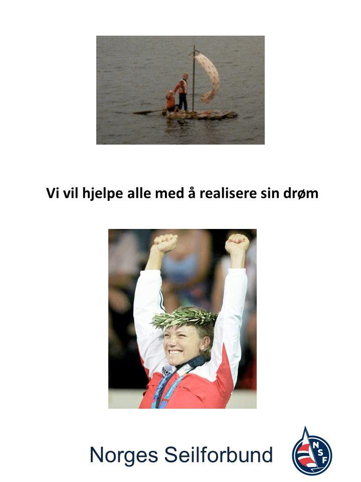 Norges Seilforbund Vi vil hjelpe alle med å realisere sin drøm
