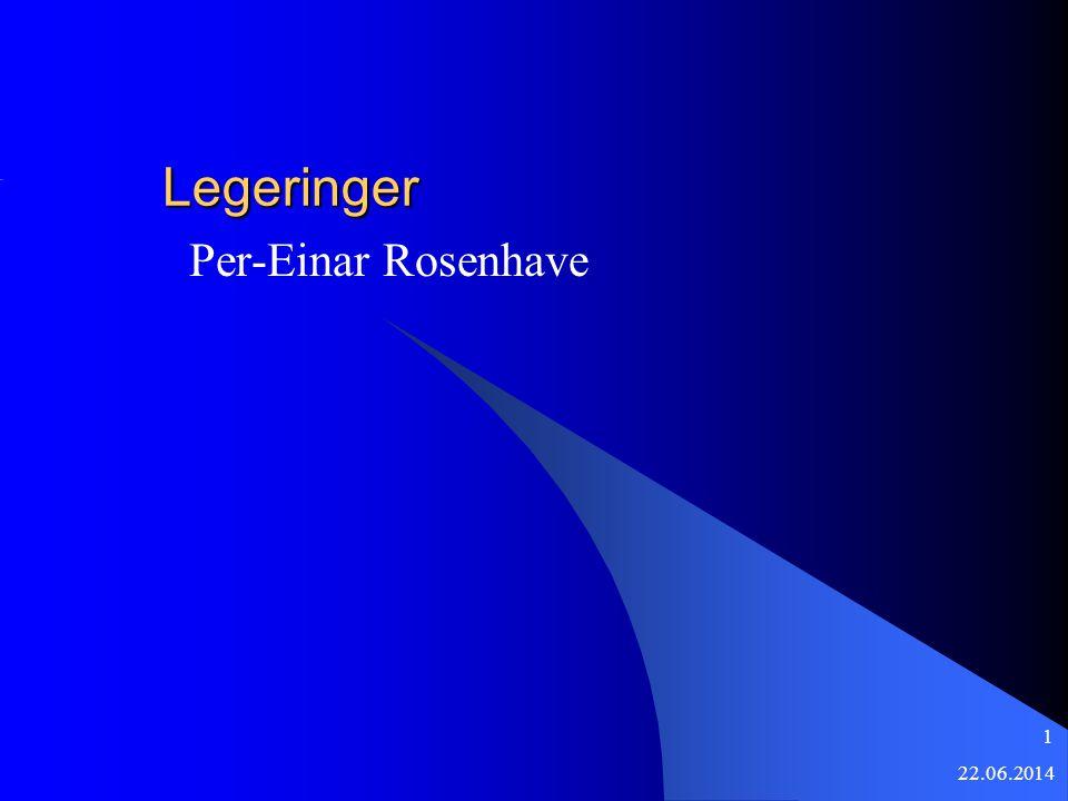 22.06.2014 1 Legeringer Per-Einar Rosenhave
