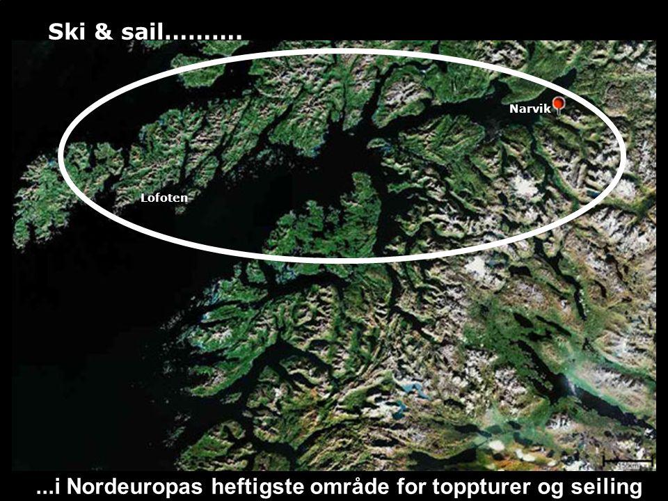 Dag 4: Seiling til Austnesfjord 15n.mil=2,5t og topptur Geitgaljen 1085m ellerRundtinden.