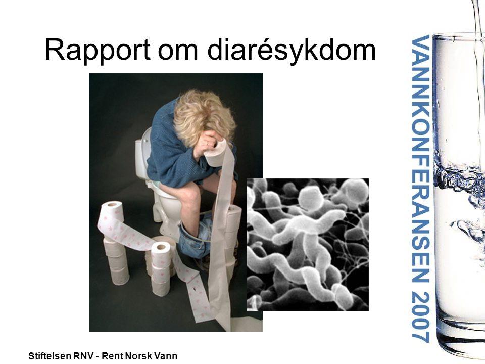 Stiftelsen RNV - Rent Norsk Vann Folkehelseinstituttet – Mattilsynet – Røros Kommune Rapport – Utbrudd av diarésykdom i Røros Kommune, mai 2007 Publisert 12.