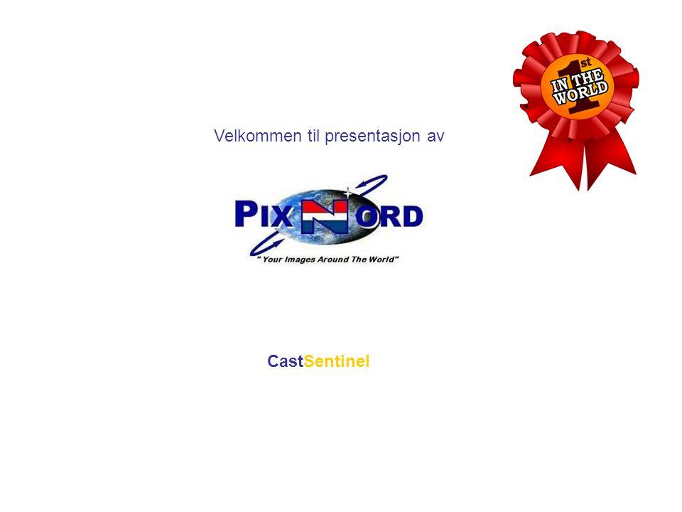 • Vises best i Office XP PowerPoint eller Office 2003 PowerPoint • For å skifte lysbilde trykk en vilkårlig tast når siden er lastet inn • For og gå tilbake til forrige side trykk pil venstre • Presentasjonen kan når som helst avbrytes med 'esc' • Last ned PC DEMO software fra www.pixnord.no/cast/demo.zip • For mobil demo og andre henvendelser gå til www.pixnord.no Velkommen til presentasjonen av CastSentinel Det første i verden innen V.V.C.