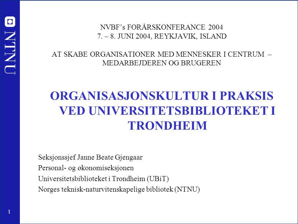 2 http://www.ub.ntnu.no Norges teknisk-naturvitenskapelige universitet (NTNU) •Ett av Norges 4 universitet •Opprettet og omdøpt i 1996, som en videreføring av Universitetet i Trondheim (UNiT) •Årlig budsjett på ca.