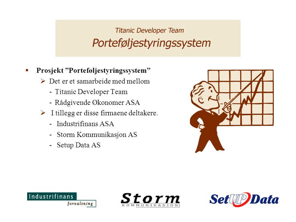  Hvorfor vi valgte oppgaven:  Bakgrunnen for at gruppen ble dannet var at Ole Henrik og Gunnar overvar Rådgivende Økonomer ASA`s presentasjon av prosjektet ved IDB.