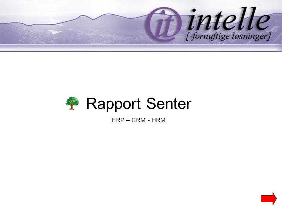 Rapport Senter ERP – CRM - HRM