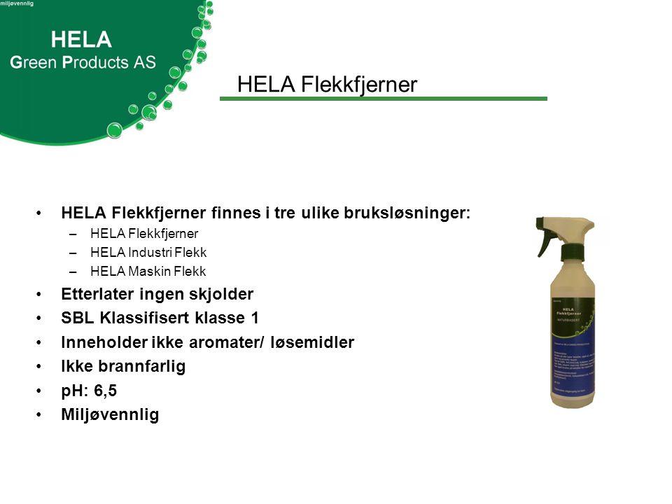 HELA Flekkfjerner •HELA Flekkfjerner kan brukes på alle typer tekstiler, også ull og silke.