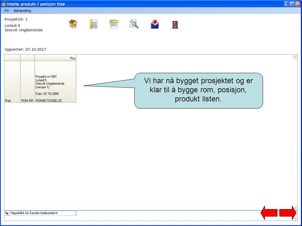 Eksport til Keyforce Ordre: Overføring til Intelle Tilbud/Ordre for henting av priser fra dit ERP system, og ferdigstillelse av tilbud.