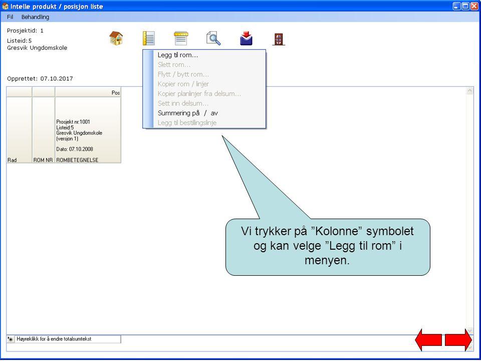 Eksport til Keyforce Ordre: Hvis bruker ønsker å del levere prosjektet (f.eks.