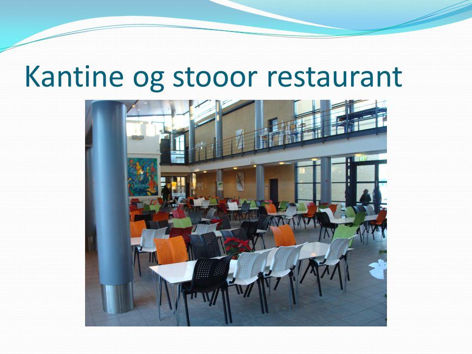 Kantine og stooor restaurant