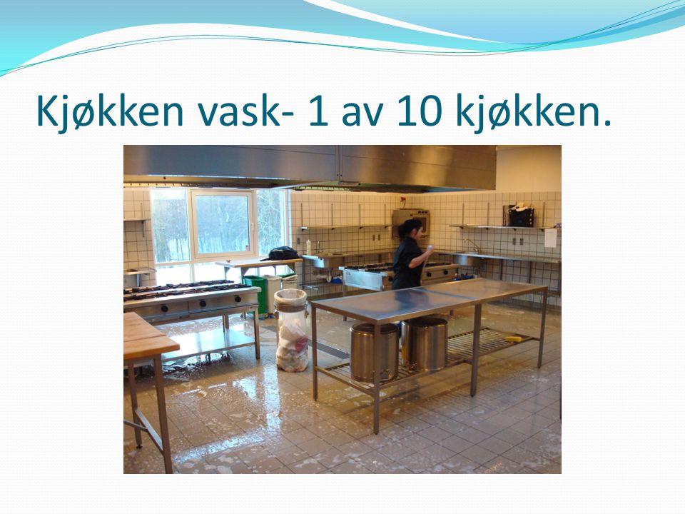 Kjøkken vask- 1 av 10 kjøkken.