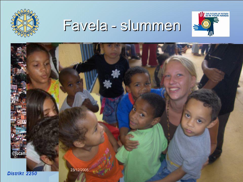 Distrikt 2250 Favela - slummen