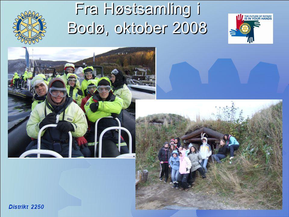 Distrikt 2250 Fra Høstsamling i Bodø, oktober 2008
