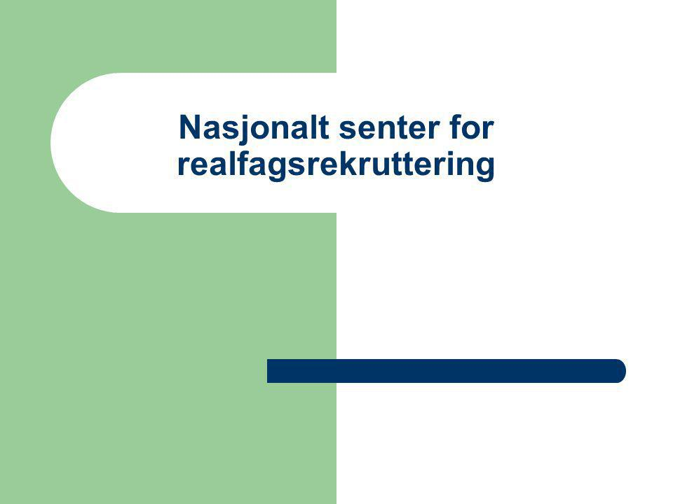Nasjonalt senter for realfagsrekruttering