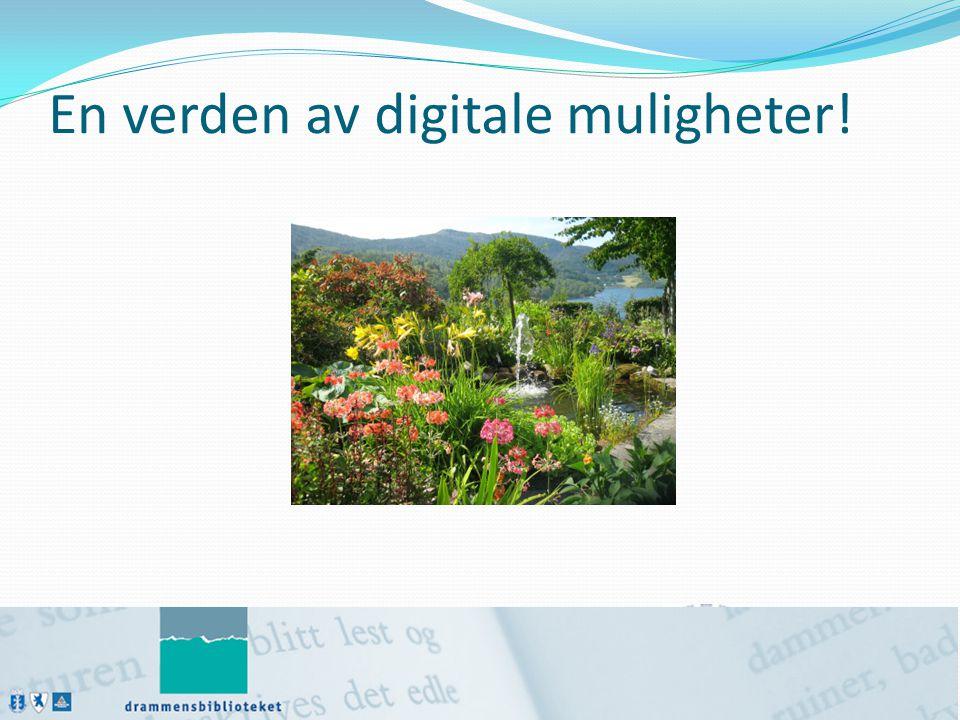 En verden av digitale muligheter!