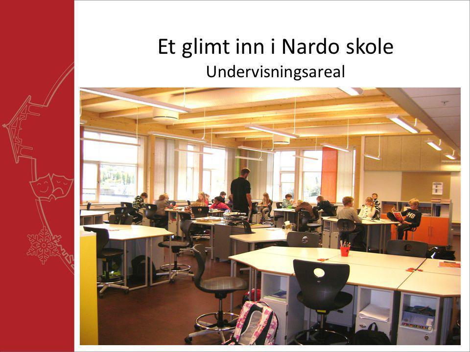 Et glimt inn i Nardo skole Undervisningsareal
