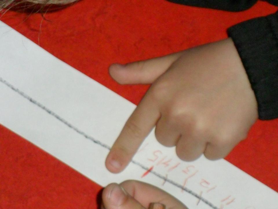 Videre arbeid:  Hands On - så kombinert med bok – til slutt hands off ( Må vi skriv i boka da, Gina? )  Eleven selv bestemmer tempo på utvikling  Synes de andre at jeg er dum hvis jeg bruker konkreter.