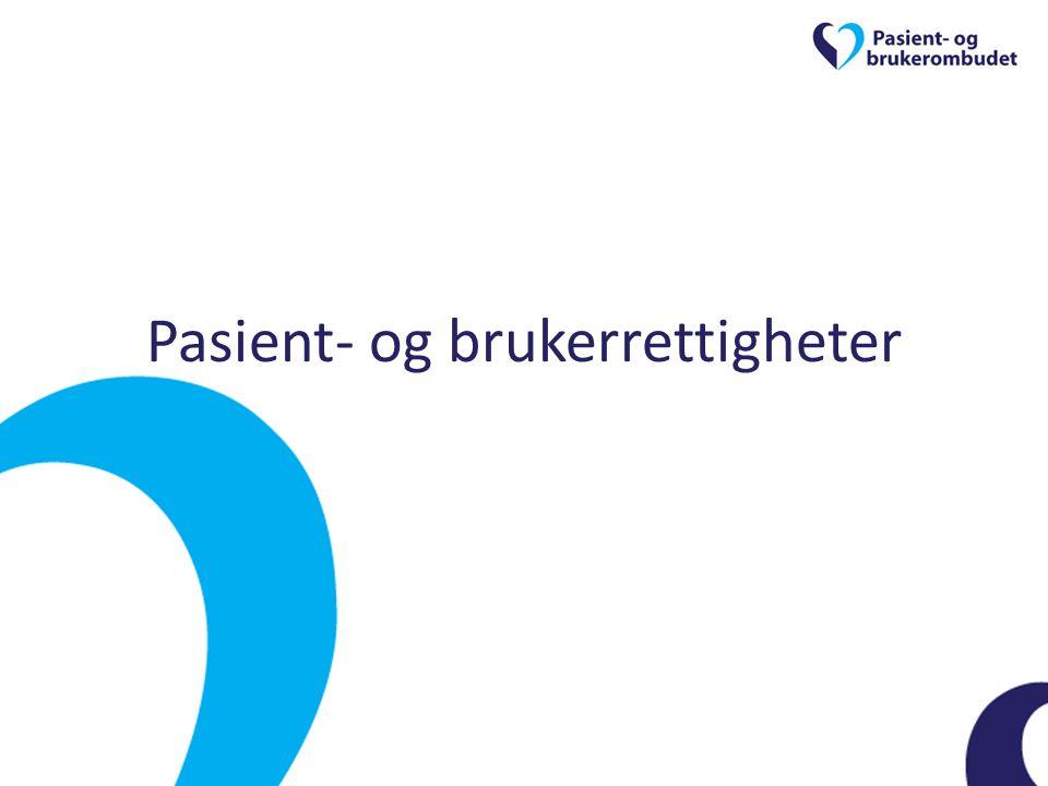 Pasient- og brukerrettigheter