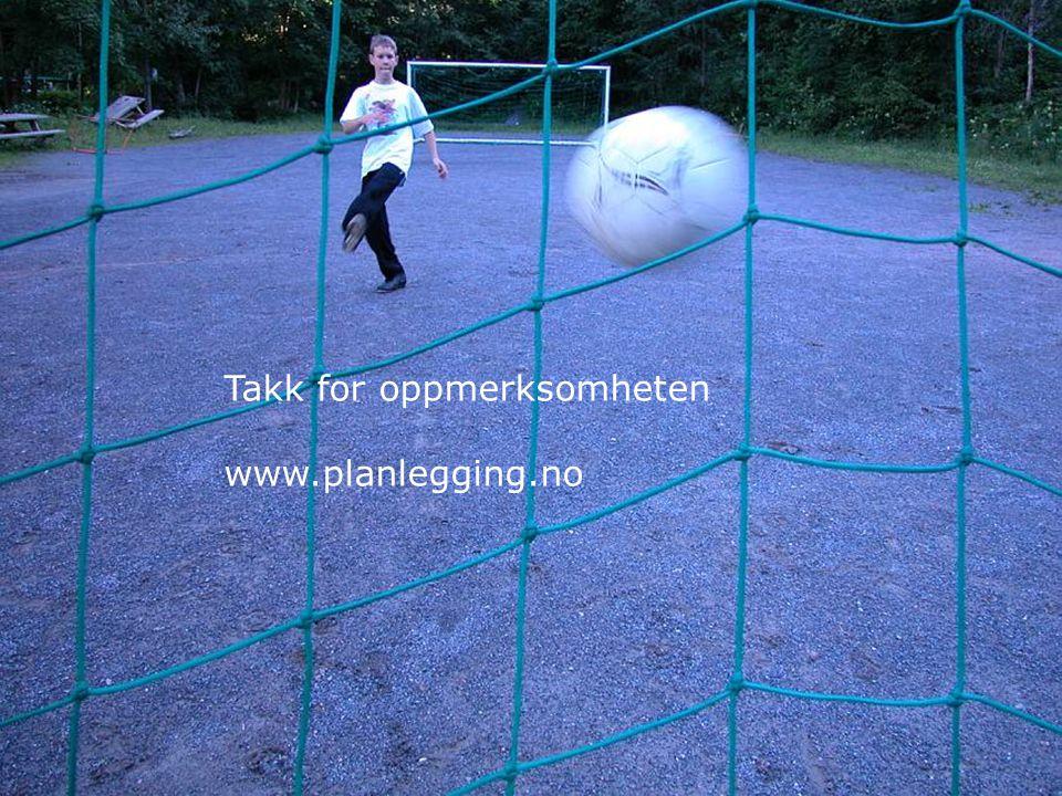 36 Takk for oppmerksomheten www.planlegging.no