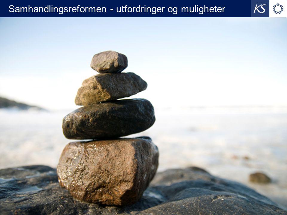 Samhandlingsreformen - utfordringer og muligheter 23.06.2014 1