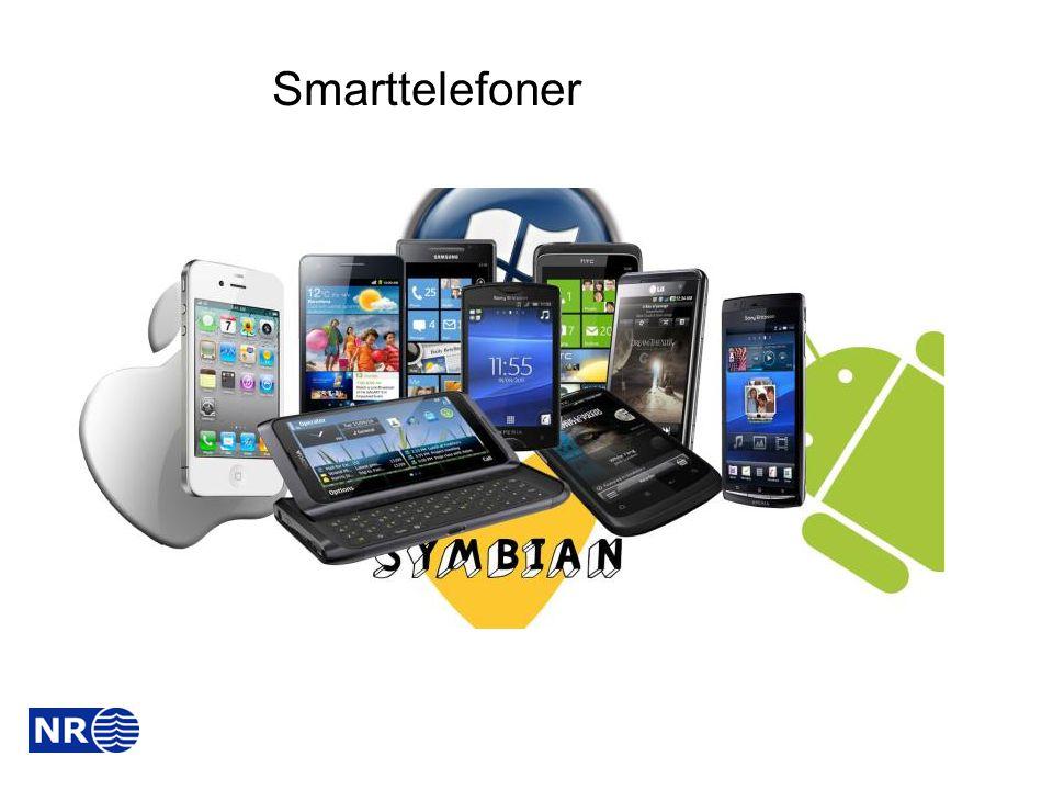 Hva er en «smarttelefon» ► En smarttelefon er en avansert mobil i grenselandet mellom mobiltelefon og datamaskin.
