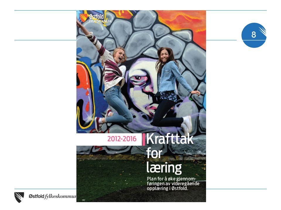 Strategi for psykisk helsearbeid i vgs •Trenger en overordnet strategi innenfor psykisk helsearbeid i Østfold fylkeskommune •Tverrfaglig arbeidsgruppe •Til behandling i OKH 23.4.2013 •Skolene lager sin egen strategi 9