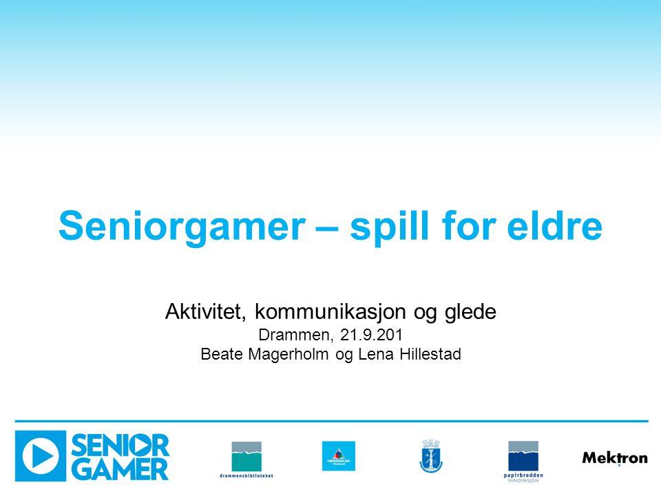 Hva er Seniorgamer.