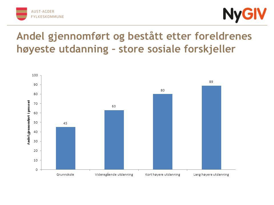 Overgangsprosjektet: Karakterenes betydning for fullføring 23.06.20146
