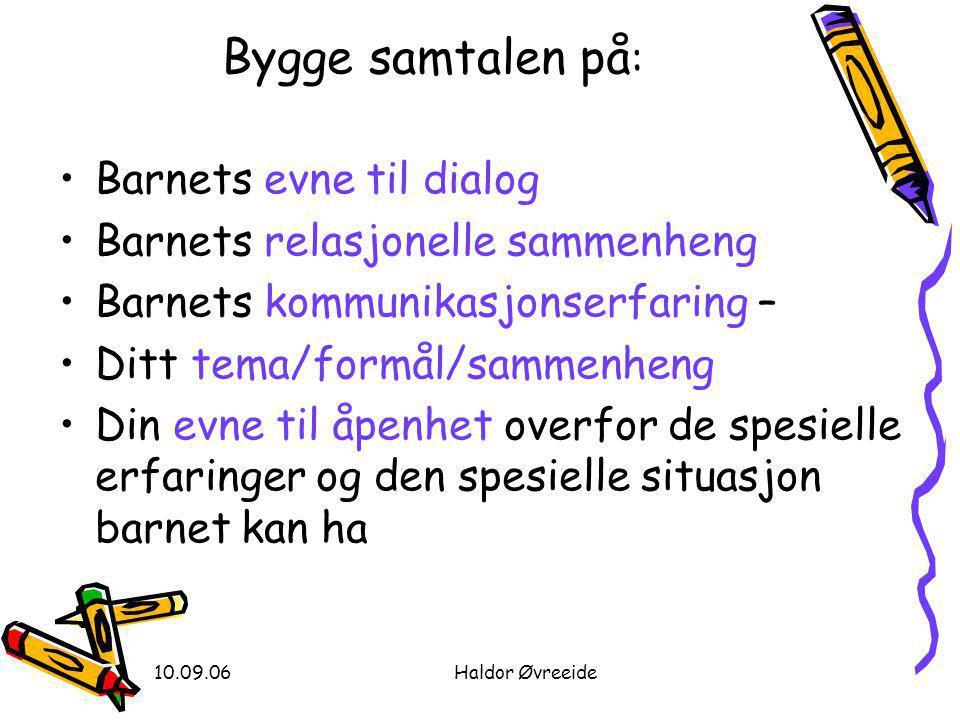 10.09.06Haldor Øvreeide Til å lese •Øvreeide, H.(2000).
