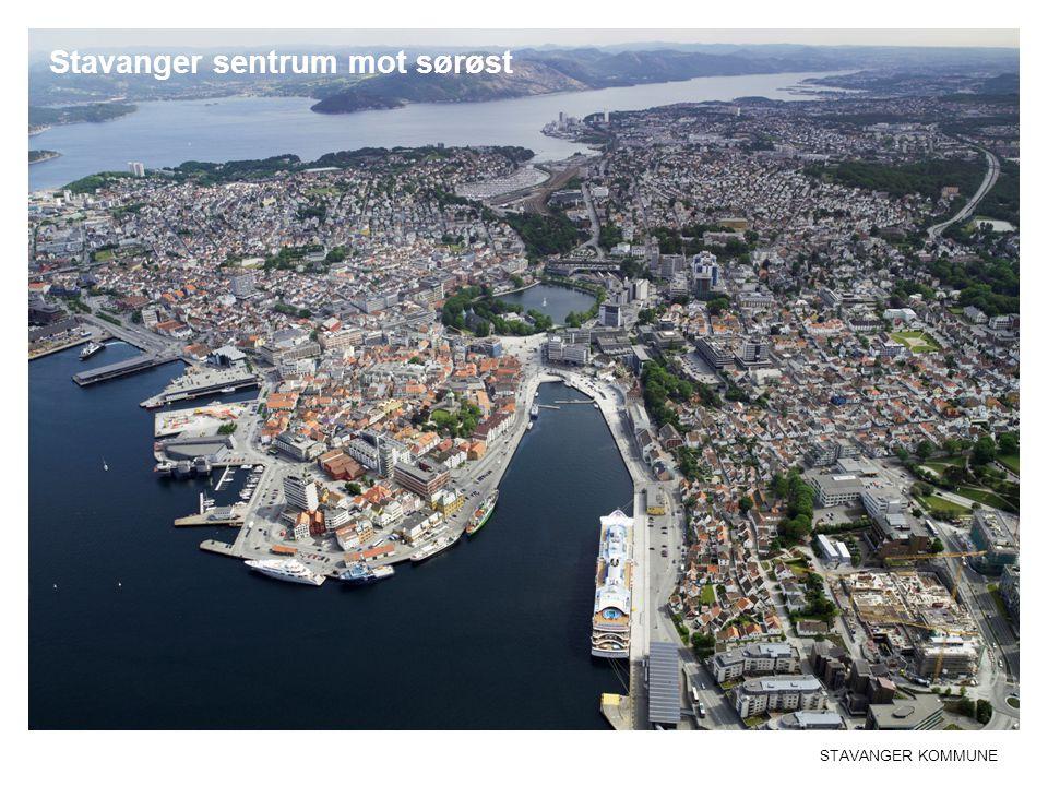 STAVANGER KOMMUNE Stavanger sentrum mot sørøst