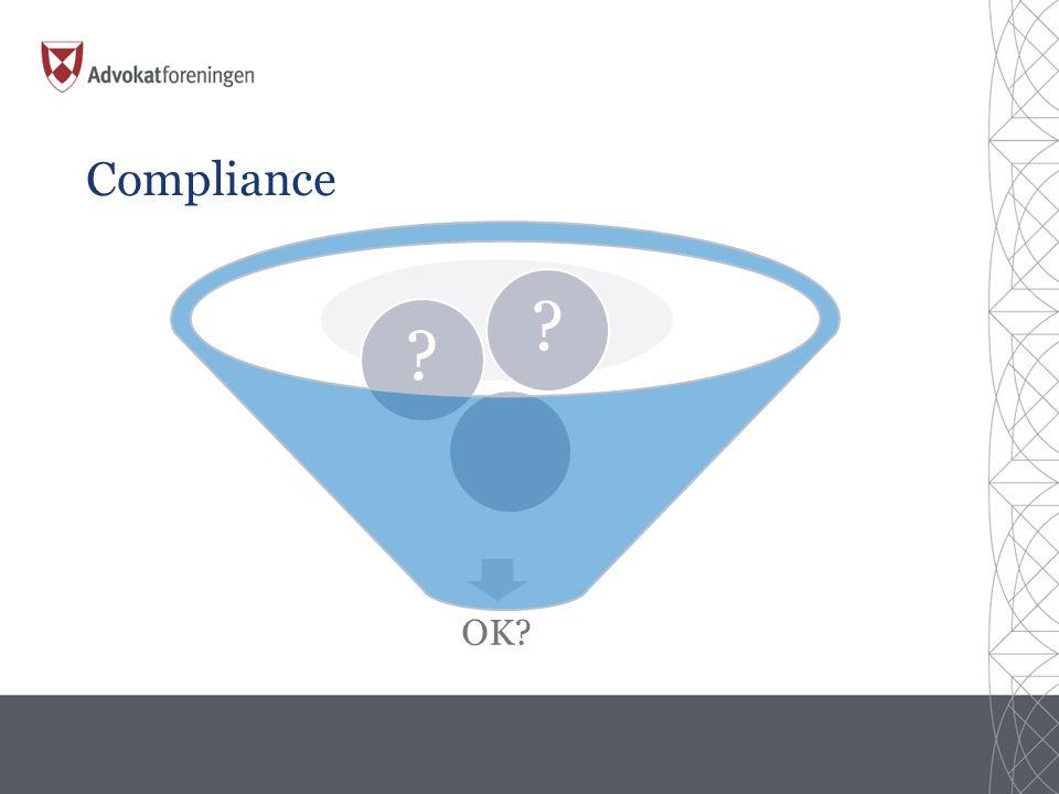 Compliance OK? ??