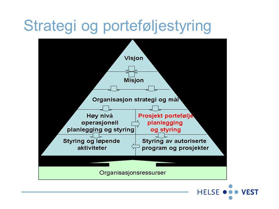 Strategi og porteføljestyring