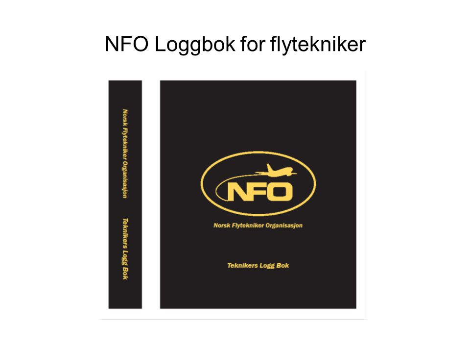 NFO Loggbok for flytekniker