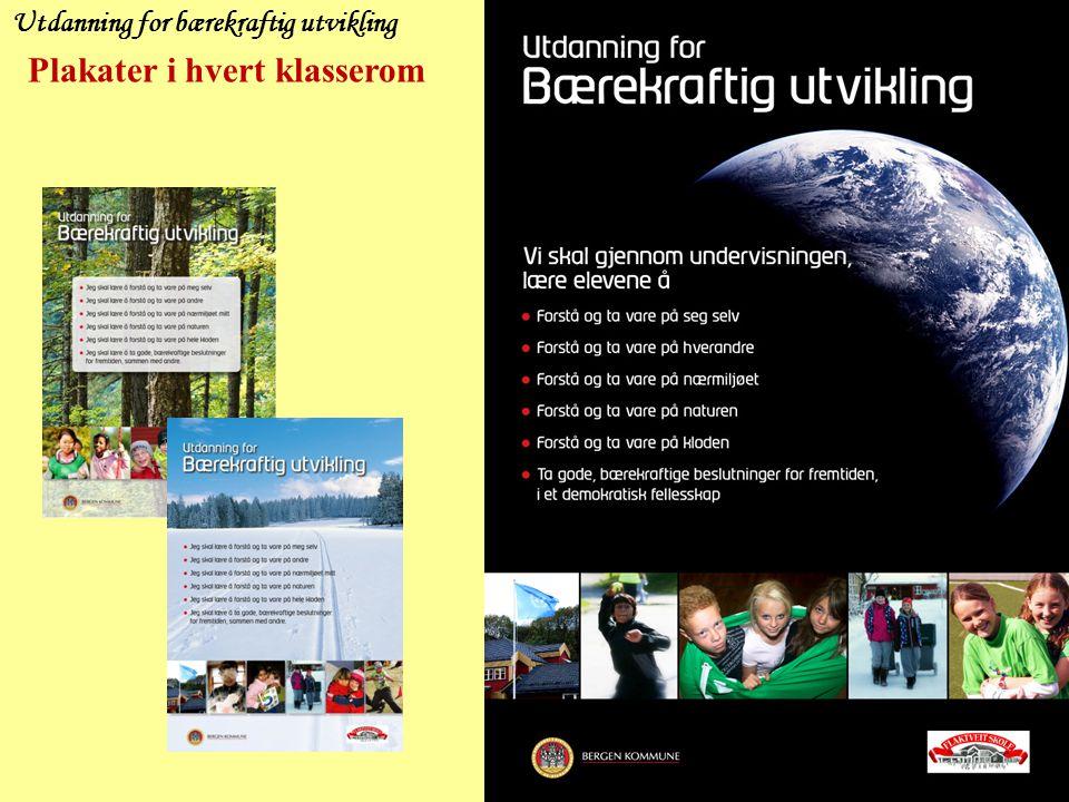 Odense 2010 PRIORITERINGER Utdanning for bærekraftig utvikling skal være en naturlig del av hele vår hverdag, gjennom 4 prioriteringer: 1)Gode praktiske fellesprosjekter.