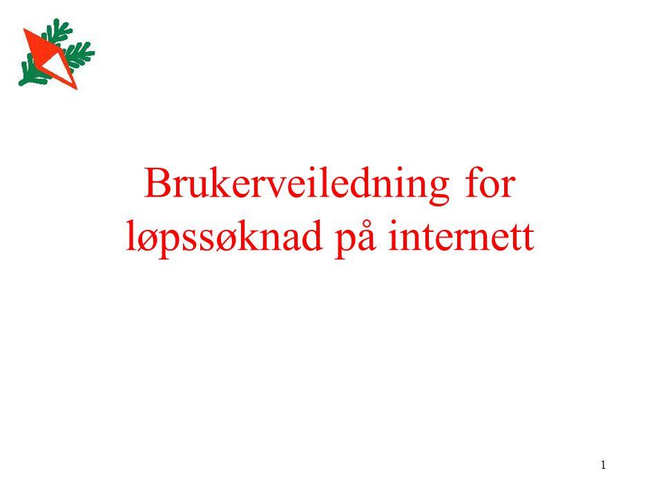 12 Søk om arrangement Feltet Søk om arrangement brukes for å sende søknad til o-forbundet.