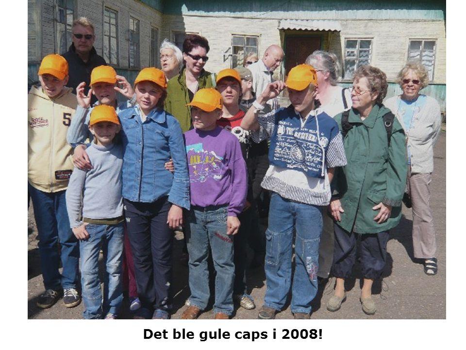 Det ble gule caps i 2008!