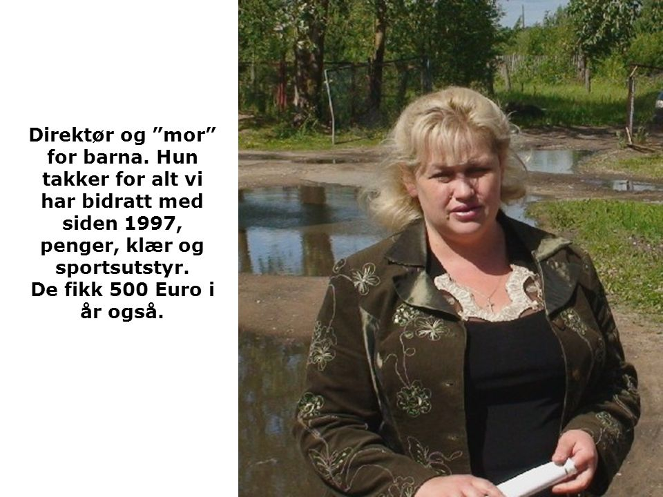 Direktør og mor for barna.