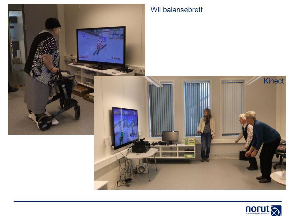 Wii balansebrett Kinect