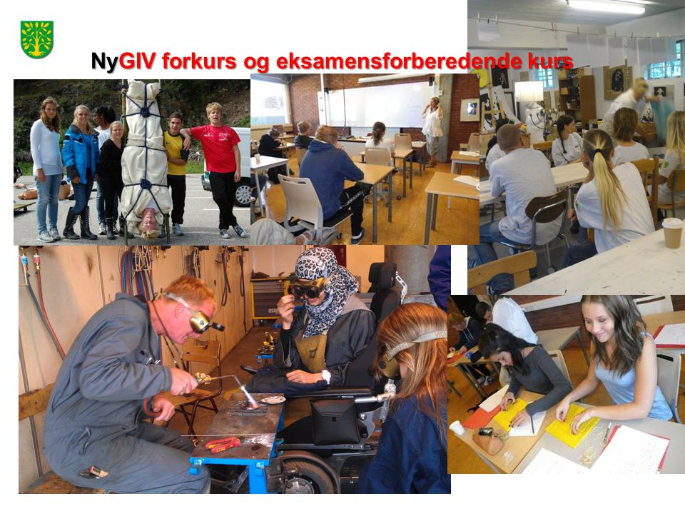 NyGIV forkurs og eksamensforberedende kurs