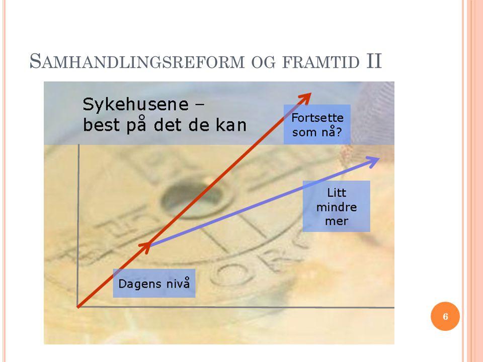 S AMHANDLINGSREFORM OG FRAMTID II 6